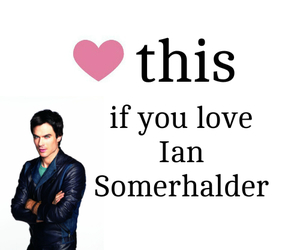 ian somerhalder, damon, and heart image