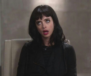 krysten ritter, black, and grunge image