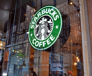 starbucks, coffee, and shop image