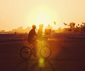 couple, dawn, and cute image