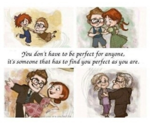 up, cute, and love image