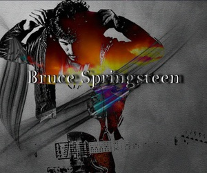 black, bruce springsteen, and music image