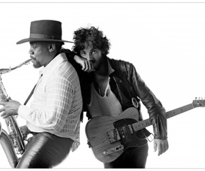 bruce springsteen, born to run, and clarence clemons image