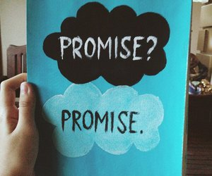 promise, book, and the fault in our stars image