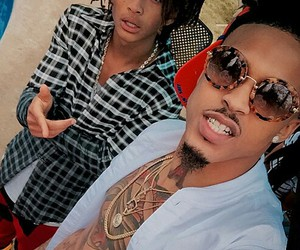 august alsina and jaden smith image