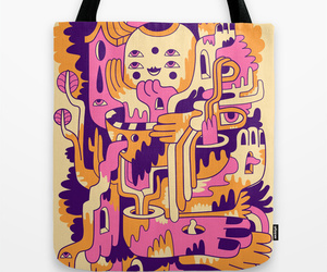abstract, art, and bag image