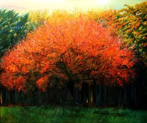 art, arts, and autumn image
