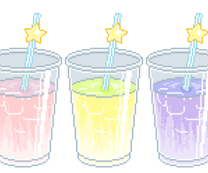 drink, kawaii, and transparent image