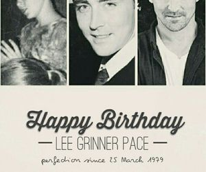 birthday, lee pace, and today image
