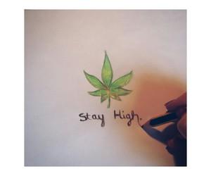 grunge, smoke, and weed image