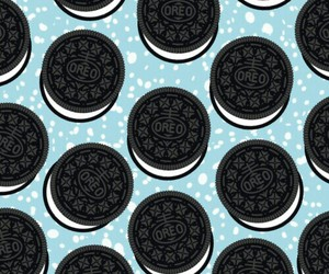background, blue, and Cookies image
