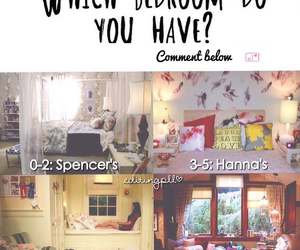 bedroom, emily, and hanna image