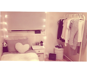 bedroom, light, and bed image