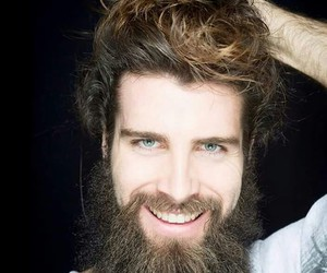 beard, handsome, and Hot image