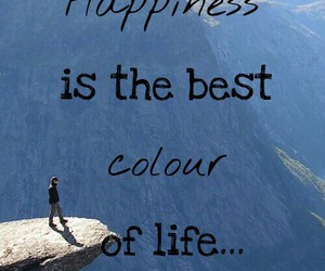blue, colour, and happiness image