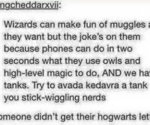 funny, hogwarts, and tumblr image