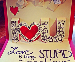 love and stupid image