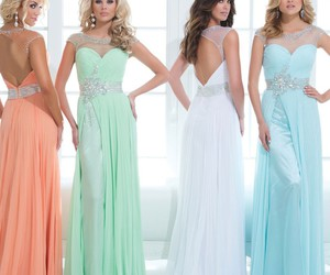clothes, dresses, and evening dresses image