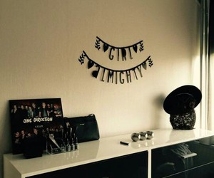room, one direction, and girl almighty image