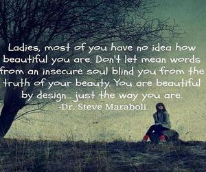 beautiful, ladies, and the way you are image
