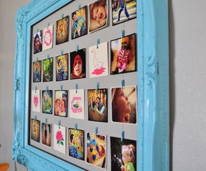 diy, photo, and frame image