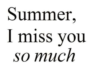 summer, miss, and text image