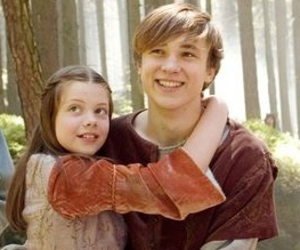 forest, lucy pevensie, and siblings image