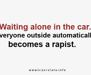 !, alone, and care image