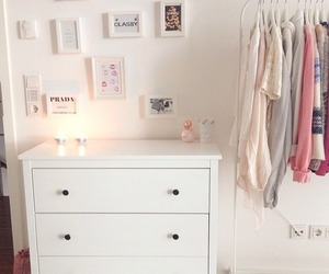 girly, room, and clothes image