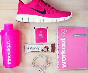 fitness, health, and nike image