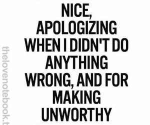 quote, regret, and apologize image
