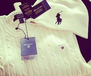 gant, ralph lauren, and sweater image