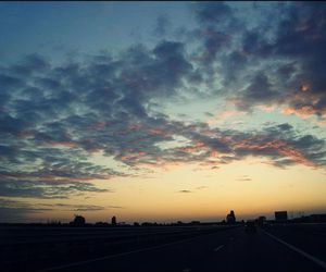 car, romantic, and highway image