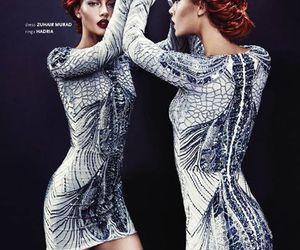dress and Zuhair Murad image