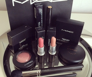 mac, lipstick, and beauty image