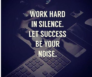 quotes, success, and work hard image