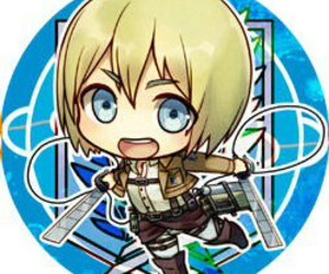 armin, anime, and chibi image