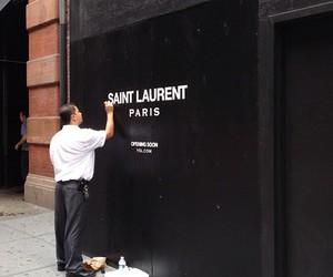 paris, saint laurent, and fashion image