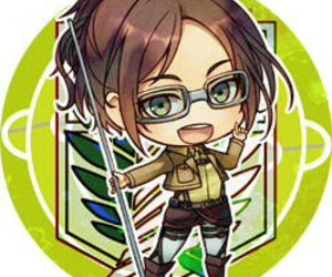anime, chibi, and attack on titan image