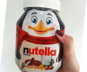 eat, food, and nutella image