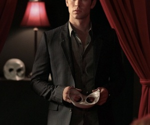 nate, gg, and gossip girl image