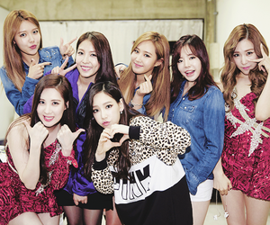 snsd, boa, and girls generation image