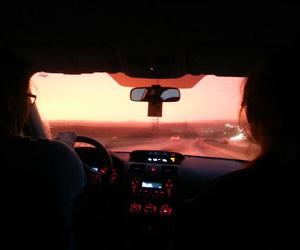 car, travel, and grunge image