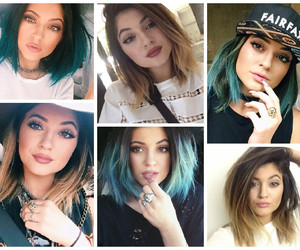 beauty, hair, and kardashian image