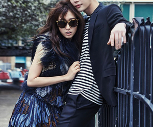 park shin hye, lee jong suk, and actor image