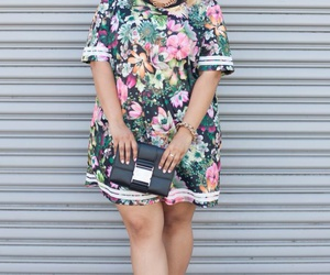 beautiful, style, and plus size image