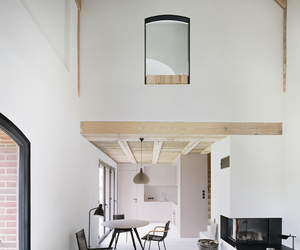 architecture, house, and living room image