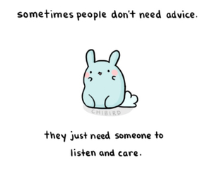 quote and chibird image
