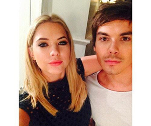 pll, ashley benson, and tyler blackburn image