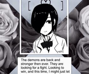 anime, demons, and edit image